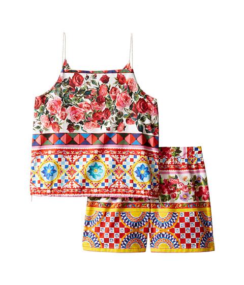 Dolce & Gabbana Kids Mambo Top/Shorts Set (Big Kids)