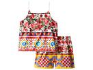 Dolce & Gabbana Kids - Mambo Top/Shorts Set (Big Kids)