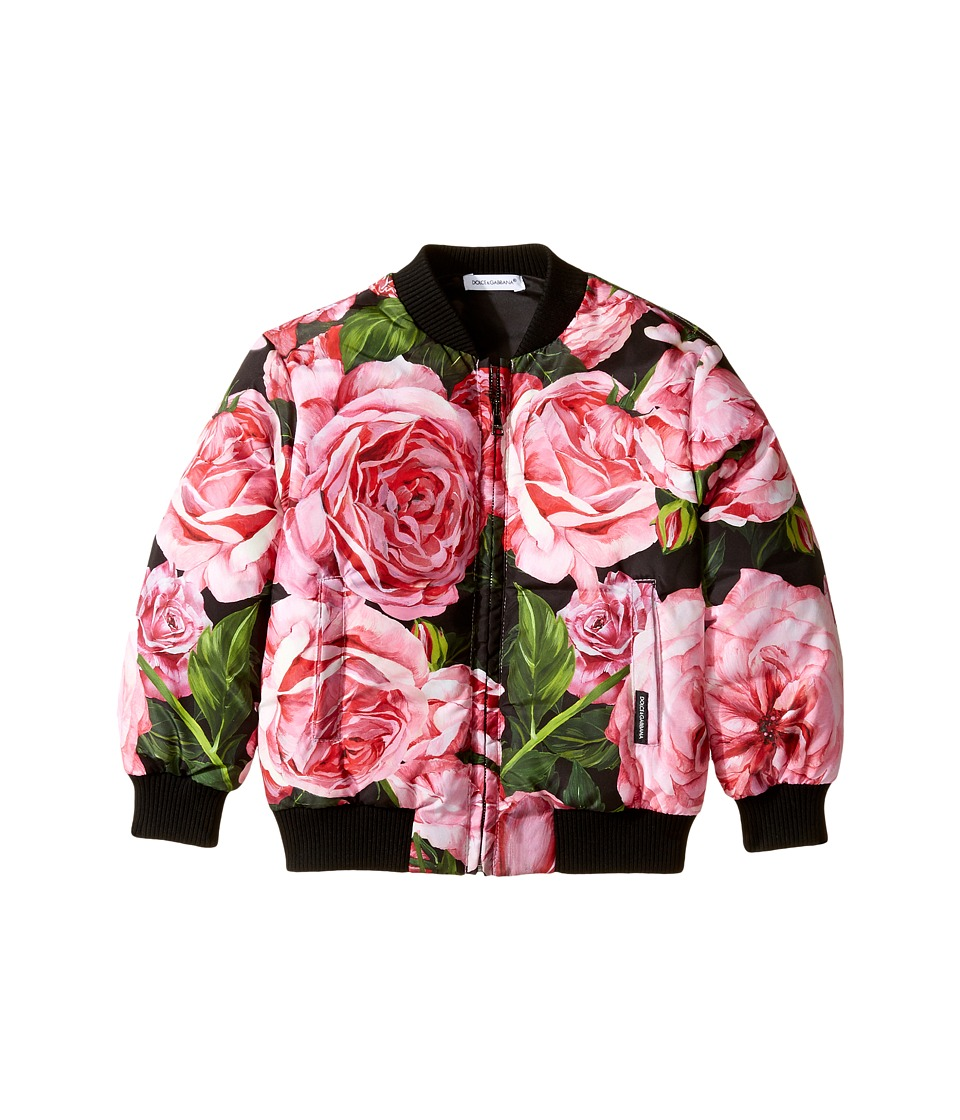 Dolce & Gabbana Kids - Rose Bomber Jacket