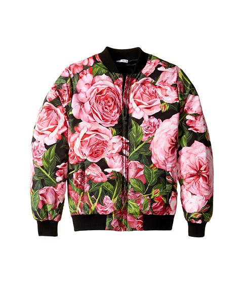 Dolce & Gabbana Kids Rose Bomber Jacket (Big Kids)