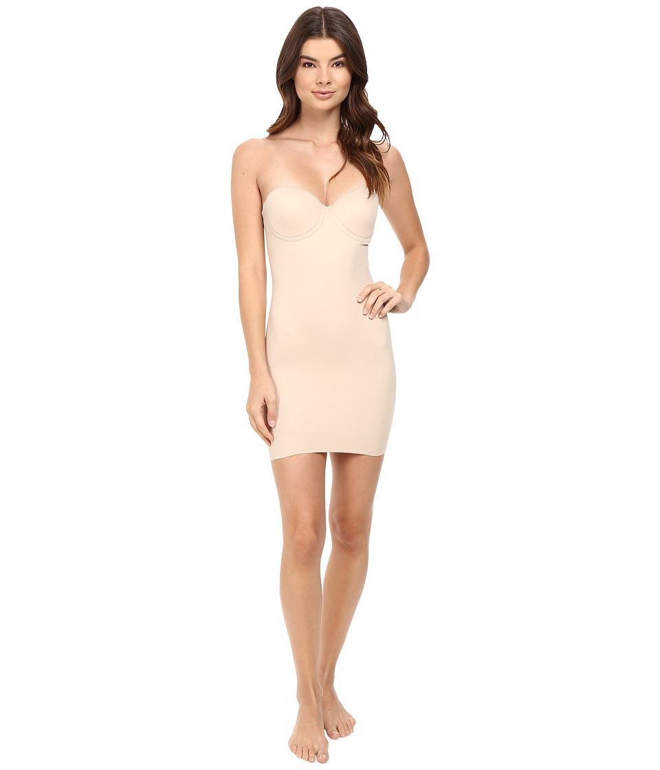 Miraclesuit Shapewear - Real Smooth Strapless Slip (Nude) Womens Bra