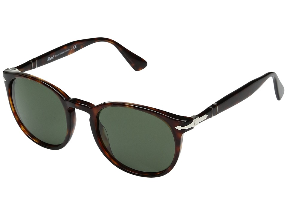 Persol - 0PO3157S (Havana/Green) Fashion Sunglasses
