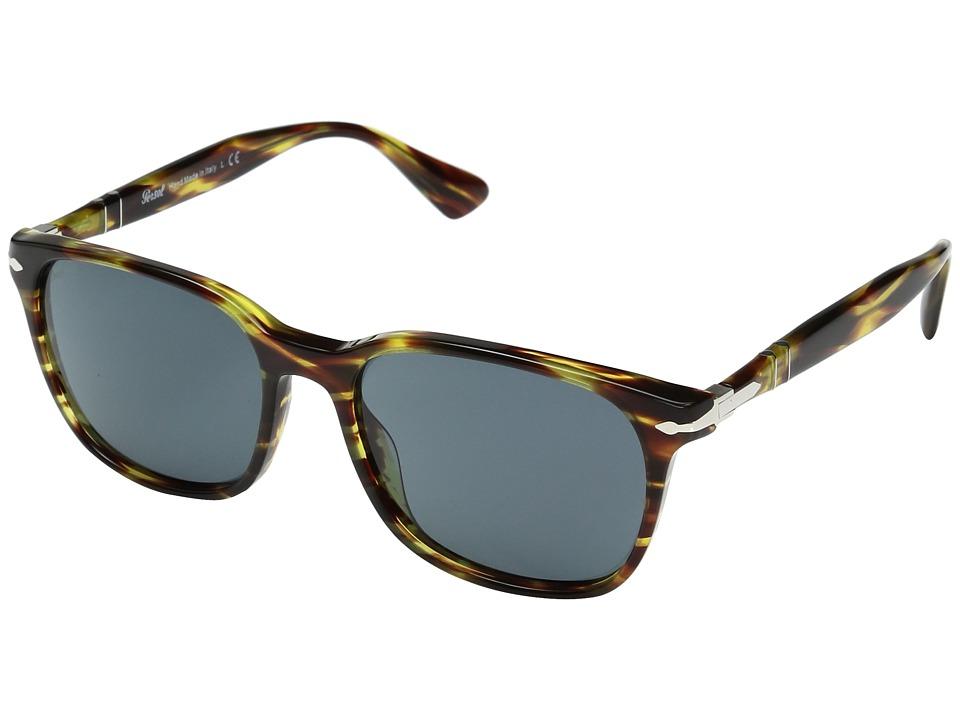 Persol 0PO3164S (Brown/Tortoise Yellow/Grey) Fashion Sung...