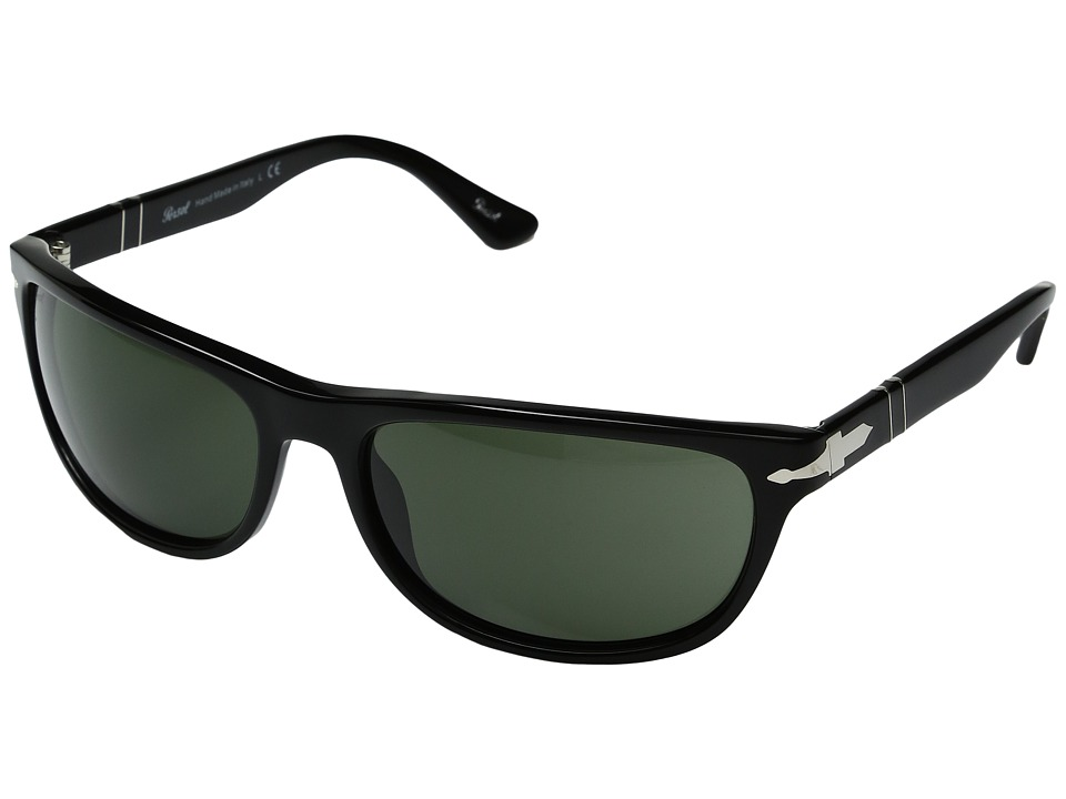 Persol - 0PO3156S (Black/Green) Fashion Sunglasses