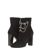 The Kooples - Goatskin Nubuck Boots with Jewels