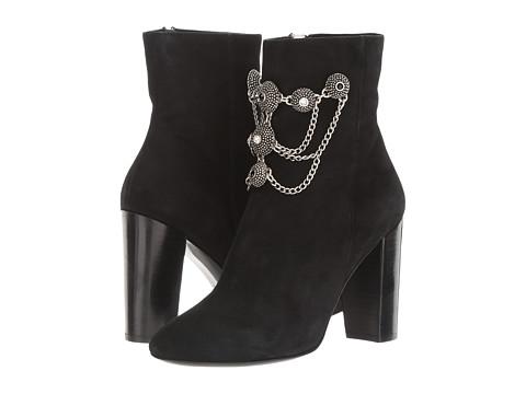 The Kooples Goatskin Nubuck Boots with Jewels