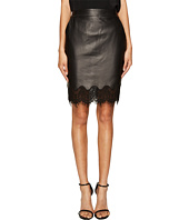 The Kooples - Lamb Skirt & Lace