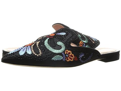 Alberta Ferretti Color Embroidered Mule