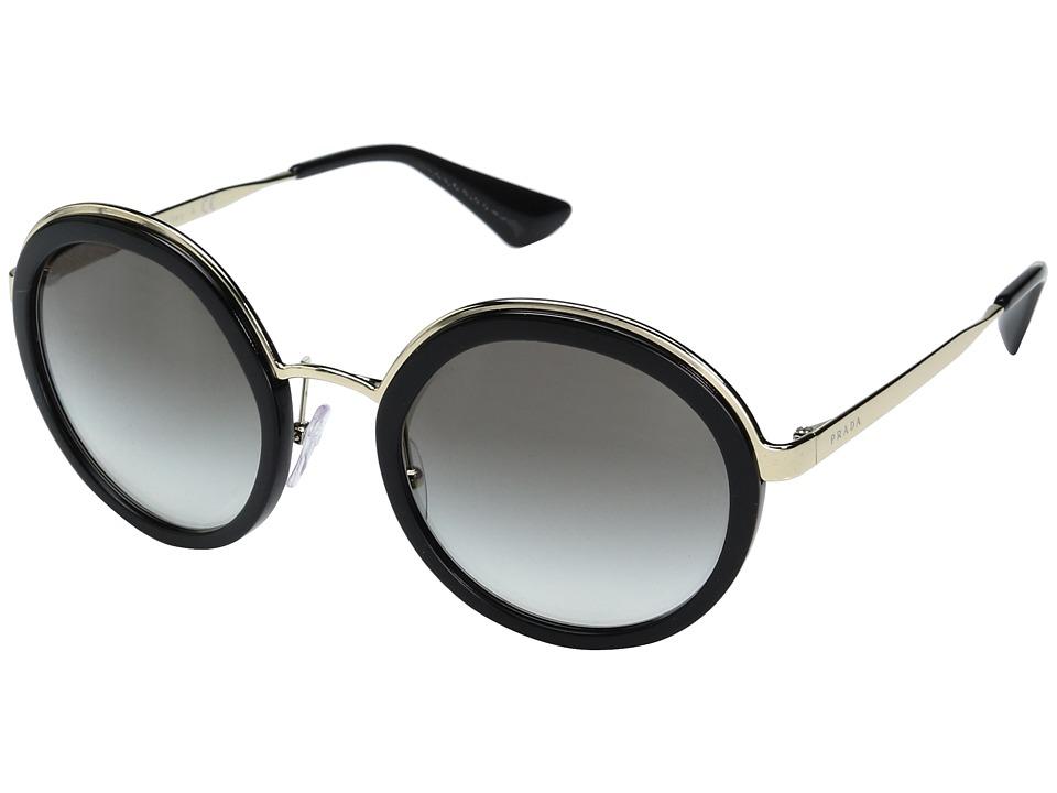 Prada 0PR 50TS (Black/Grey Gradient) Fashion Sunglasses
