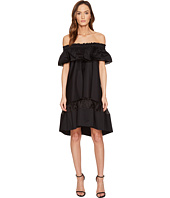 Alberta Ferretti - Off the Shoulder High-Low Dress