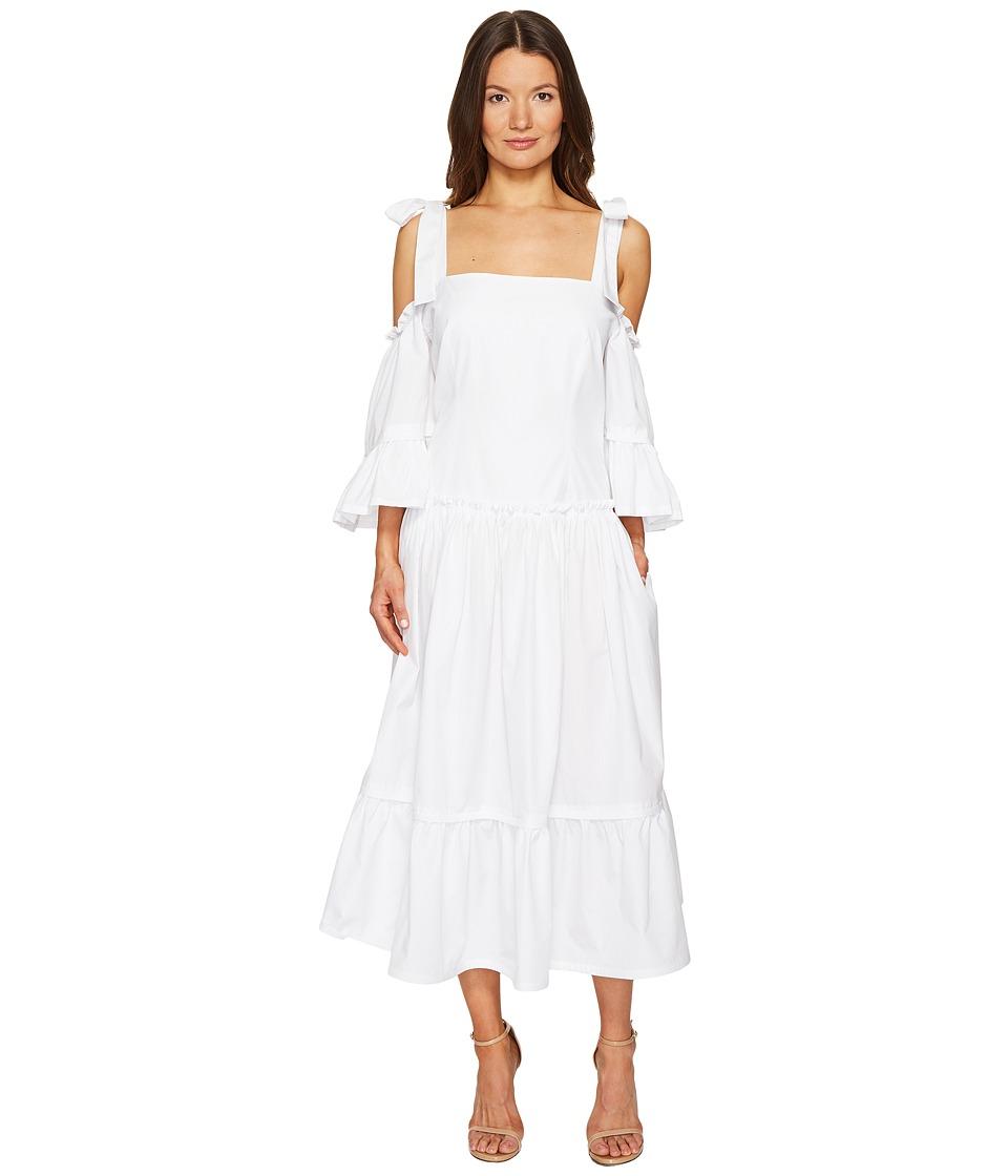Alberta Ferretti - Cold Shoulder Dress