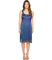 Alberta Ferretti - Sleeveless Fringe Dress