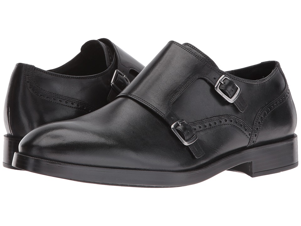 Cole Haan Harrison Grand Double Monk (Black/Black) Men