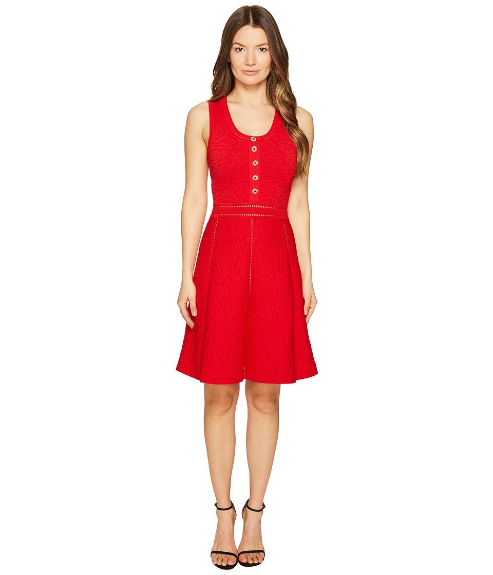 The Kooples Robe En Maille Dress (Red) Women