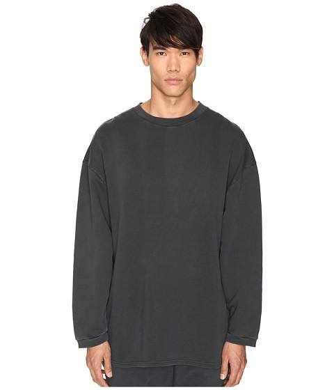 adidas Originals by Kanye West YEEZY SEASON 1 Long Sleeve Crew Shirt - Caviar