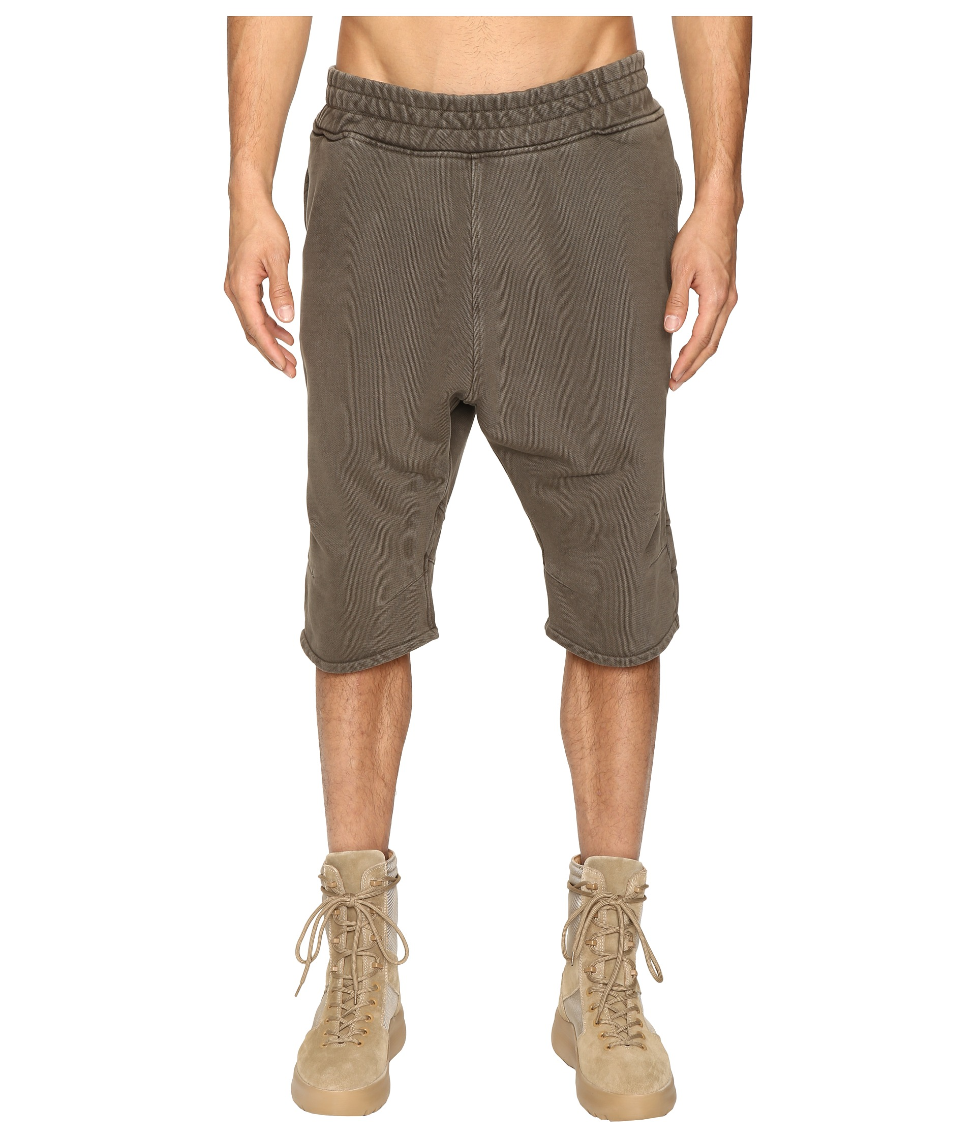 adidas originals by kanye west yeezy season 1 fj shorts