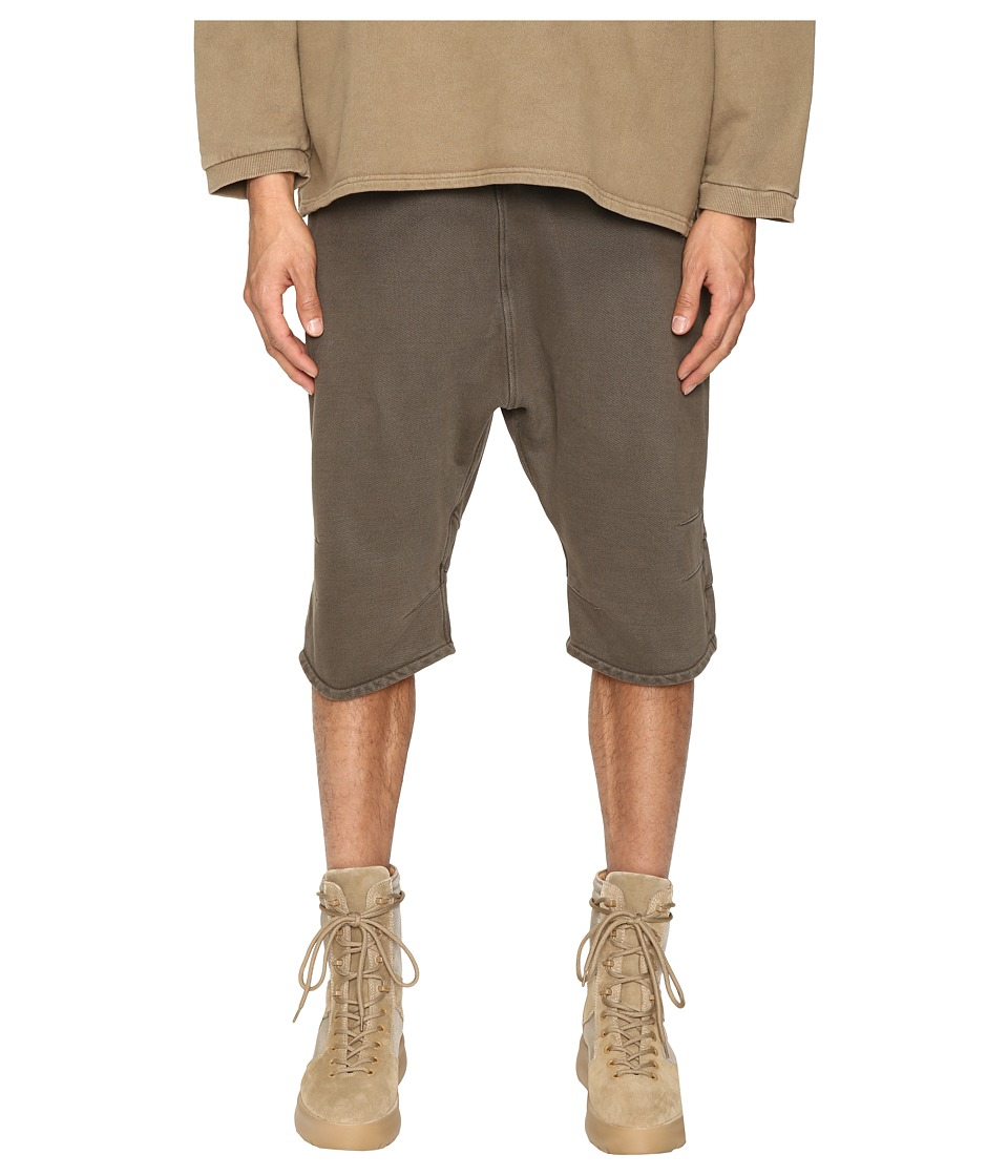 Image of adidas Originals by Kanye West YEEZY SEASON 1 - FJ Shorts (Beluga) Men's Shorts