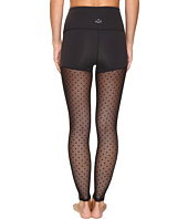Beyond Yoga - Polka Dot Mesh Back High Waist Leggings