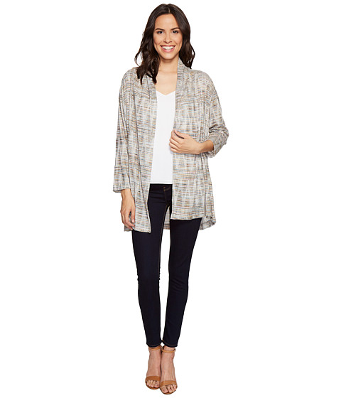 Nally & Millie Textured Open Front Cardigan