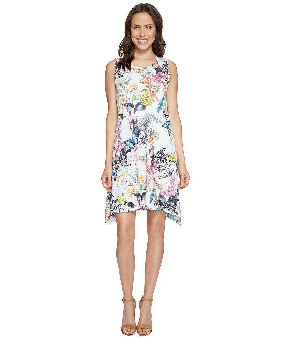 Nally & Millie Printed Reversible Dress (Multi) Women