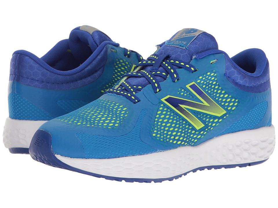 New Balance Kids - KJ720v4 (Little Kid/Big Kid) (Blue/Green) Boys Shoes