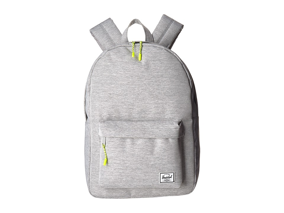 Herschel Supply Co. Classic Mid-Volume (Light Grey Crosshatch) Backpack Bags