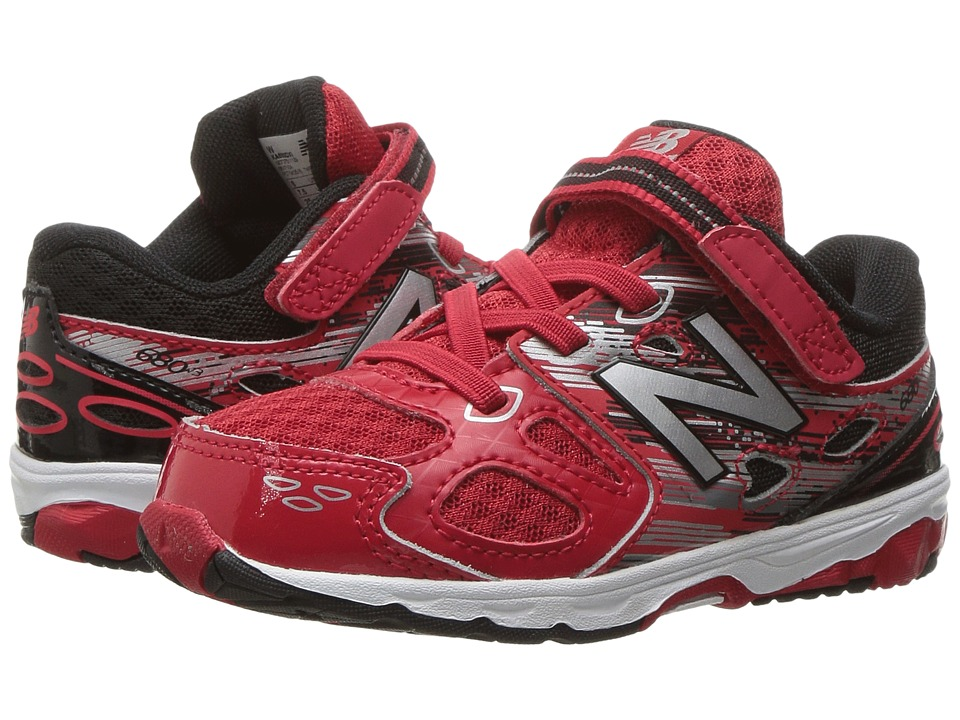 New Balance Kids KA680v3 (Infant/Toddler) (Red/Black) Boys Shoes