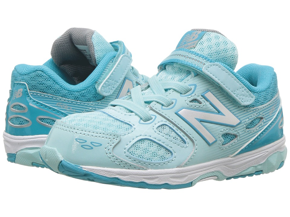 New Balance Kids KA680v3 (Infant/Toddler) (Blue/White) Girls Shoes