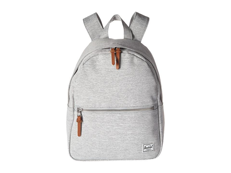 Herschel Supply Co. Town (Light Grey Crosshatch) Backpack Bags