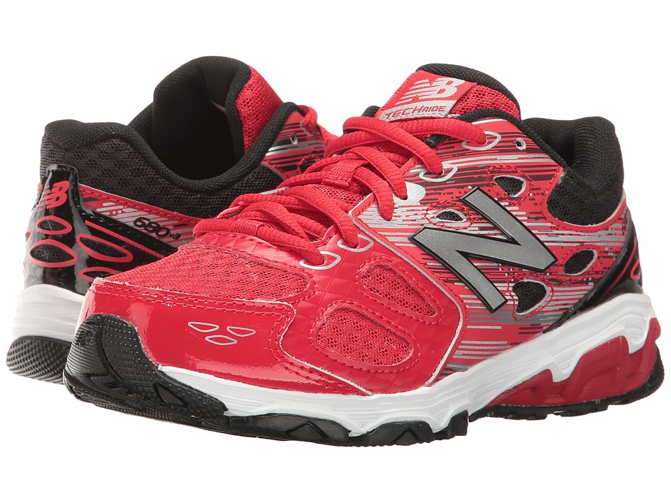 New Balance Kids KR680v3 (Little Kid/Big Kid) (Red/Black) Boys Shoes