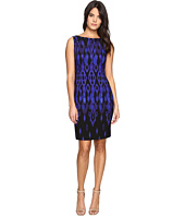 Tahari by ASL - Ikat Crepe Sheath