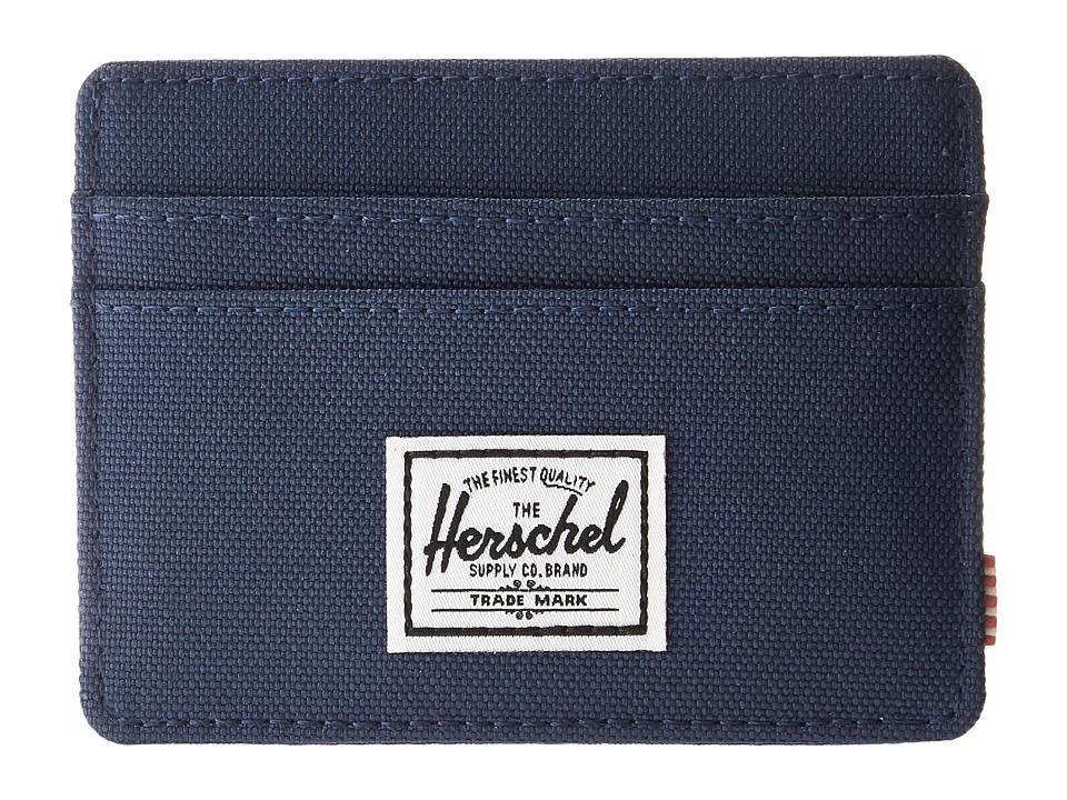 Herschel Supply Co. - Charlie RFID (Navy) Wallet Handbags