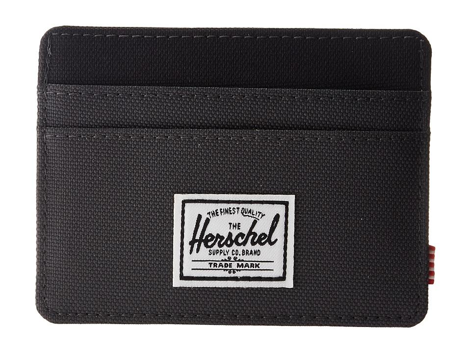 Herschel Supply Co. - Charlie RFID (Dark Shadow/Black) Wa...