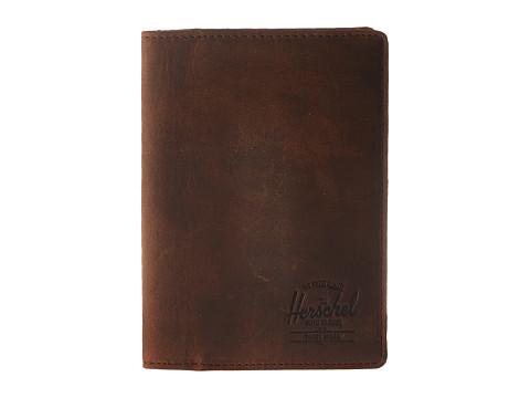 Herschel Supply Co. Raynor Passport Holder Leather RFID - Nubuck Leather
