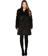 Jeremy Scott - Faux Mongolia Long Coat