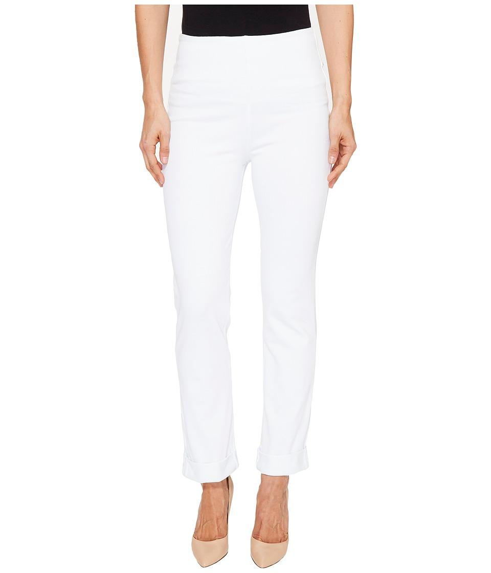 Lysse Rolled-Cuff Boyfriend Denim (White) Women's Jeans