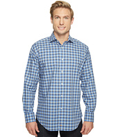 Thomas Dean & Co. - Long Sleeve Shadow Check Sport Shirt