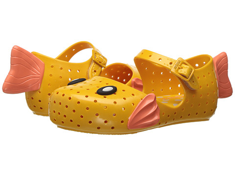 Mini Melissa Mini Furadinha + Fabula (Toddler/Little Kid) - Yellow/Orange