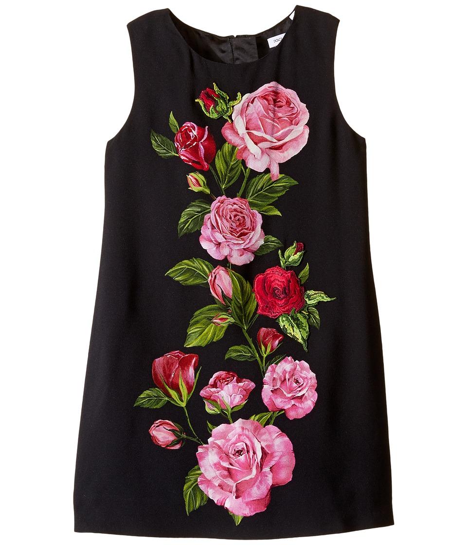 Dolce & Gabbana Kids - Rose Cadi Sleeveless Dress