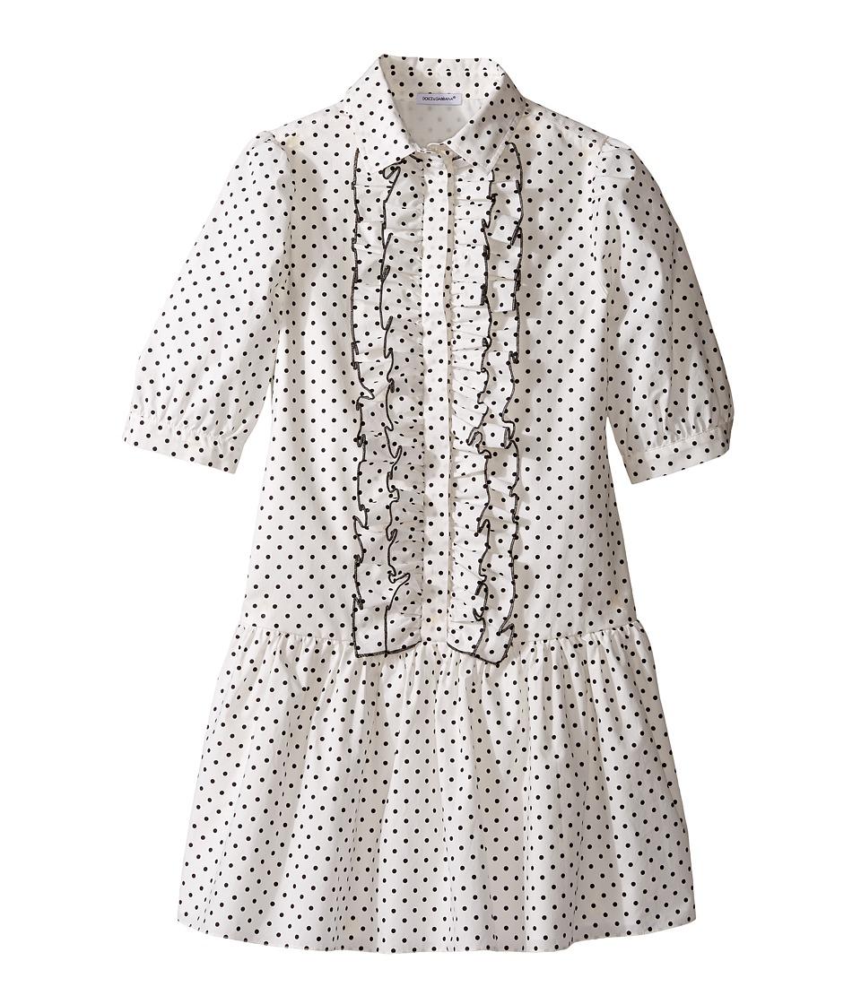 Dolce & Gabbana Kids - Tropical City Long Sleeve Dress
