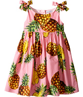 Dolce & Gabbana Kids - Tropical City Poplin Dress (Toddler/Little Kids)