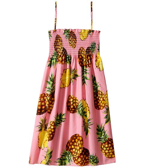 Dolce & Gabbana Kids Tropical City Sleeveless Dress (Big Kids)
