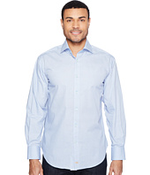 Thomas Dean & Co. - Long Sleeve Poplin Print Sport Shirt