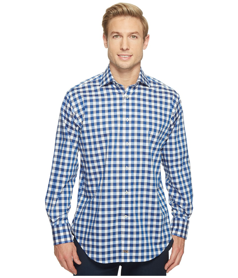 Thomas Dean & Co. - Long Sleeve Large Bold Check Sport Shirt
