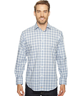 Thomas Dean & Co. - Long Sleeve Grid Plaid Sport Shirt