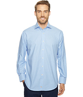 Thomas Dean & Co. - Long Sleeve Mini Check Sport Shirt