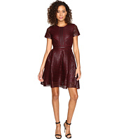 ROMEO & JULIET COUTURE - Striped Mesh Dress