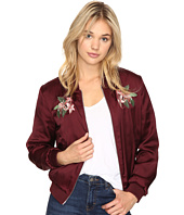 ROMEO & JULIET COUTURE - Satin Bomber Jacket