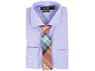 LAUREN Ralph Lauren Slim Fit Stretch Poplin Estate Spread Collar Dress Shirt