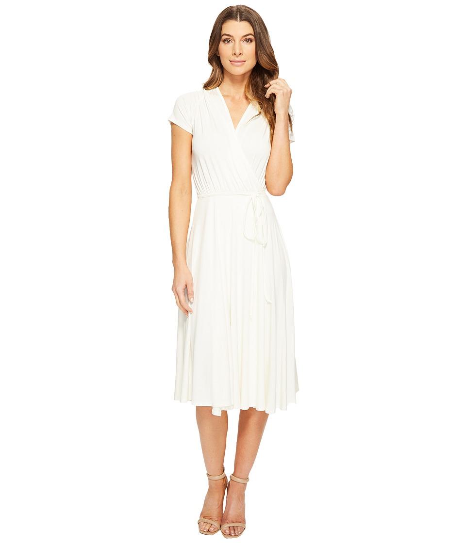 Rachel Pally Short Sleeved Cookie Dress (White) Women